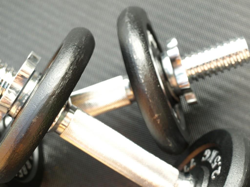 Hanteln für den Muskelaufbau