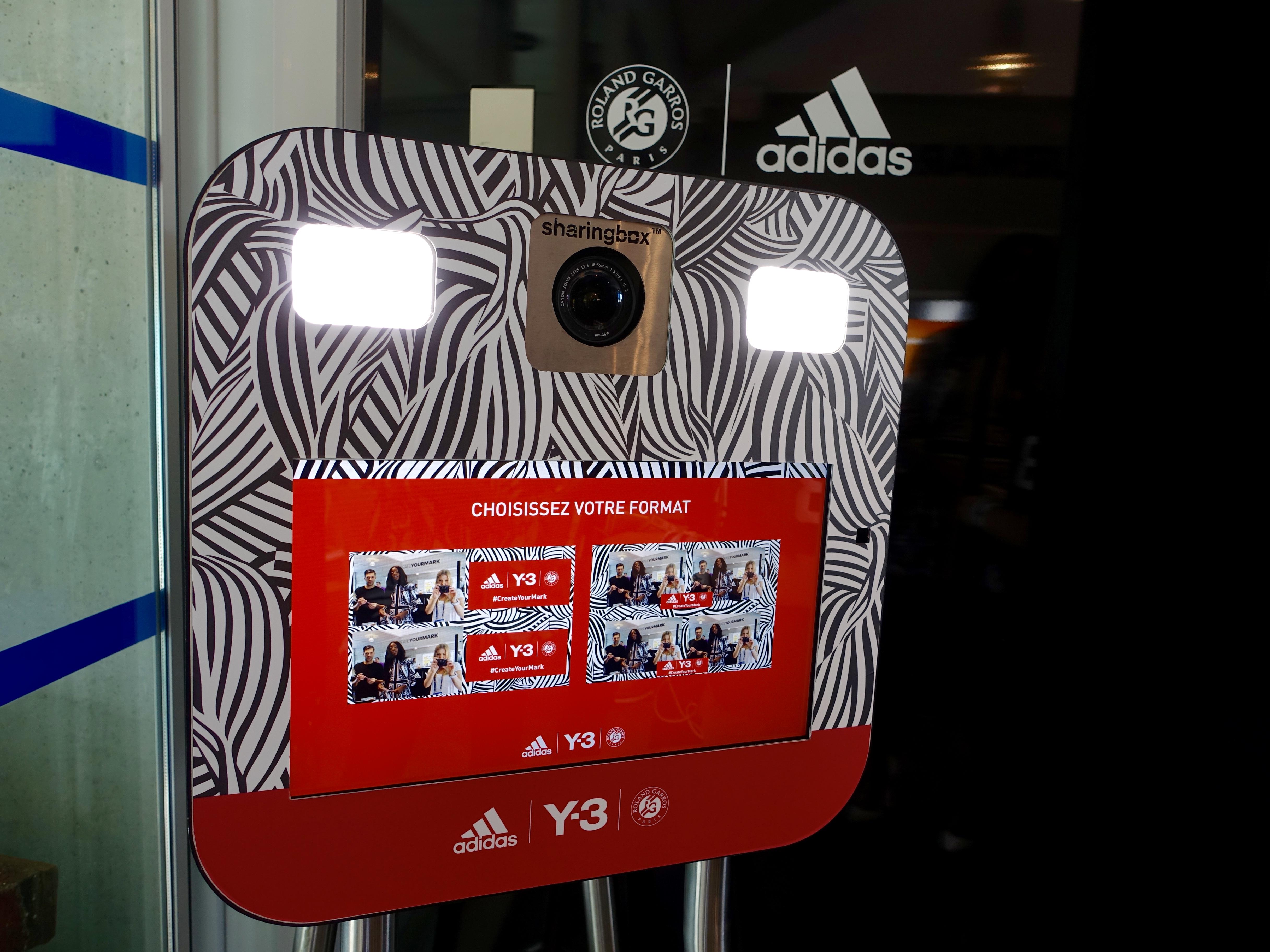 adidas Fotobox Roland Garros