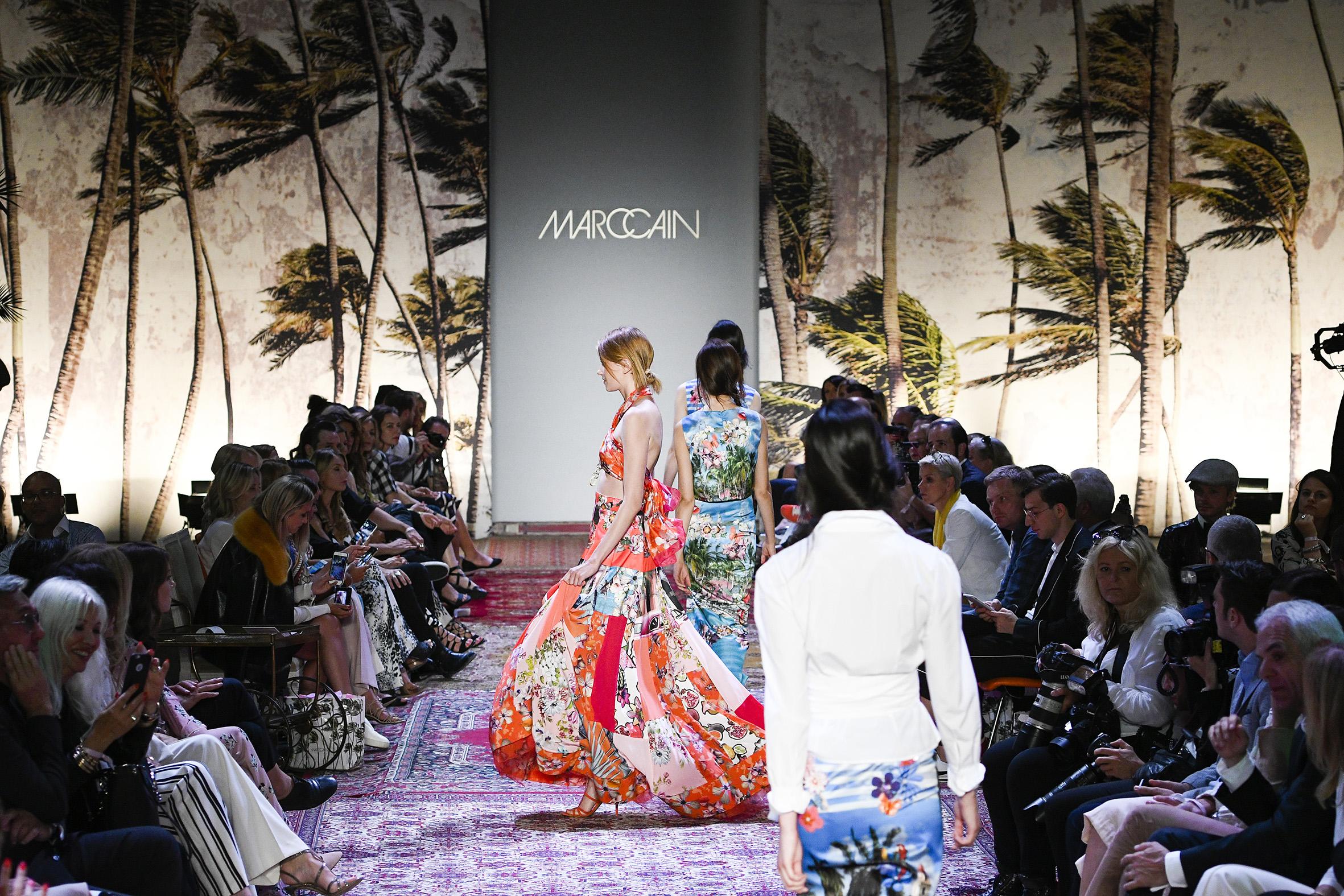 MarcCain-Catwalk Fashion Week