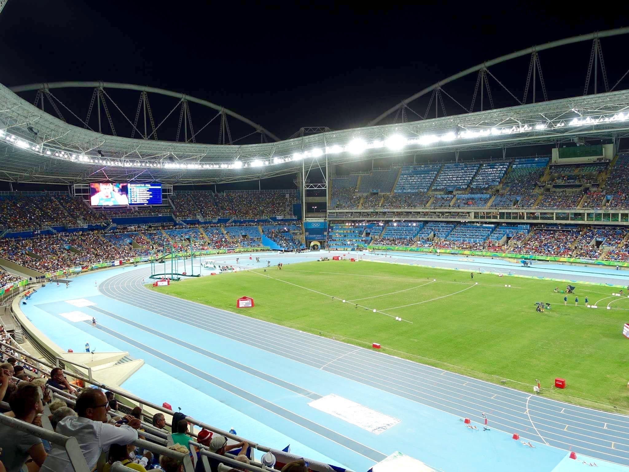 Leichtathletik Stadion Olympische Spiele in Rio